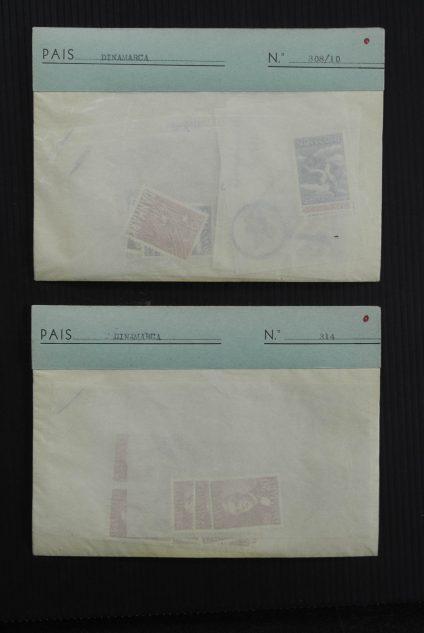 Stamp collection 27060 Scandinavia 1930-1990.
