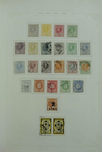 Stamp collection 27104 Suriname 1873-1975.