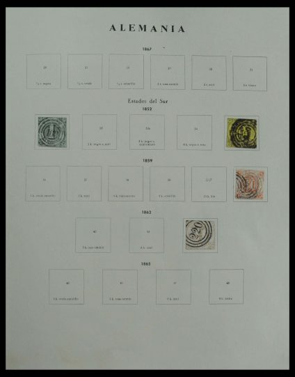 Stamp collection 27178 Germany 1872-1974.