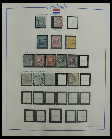 Stamp collection 27196 Netherlands 1852-1995.