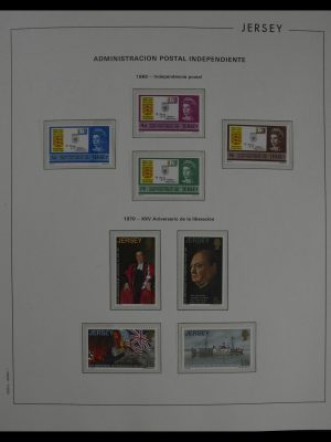 Stamp collection 27268 Jersey