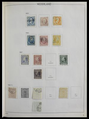 Stamp collection 27287 Netherlands and Dutch territories 1852-1964.