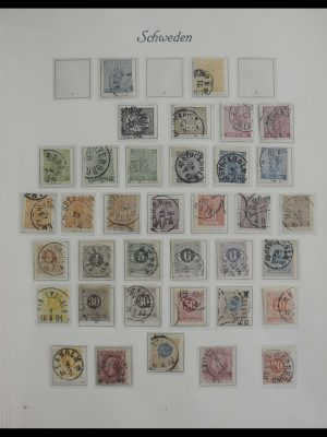 Stamp collection 27298 Sweden 1855-2000.