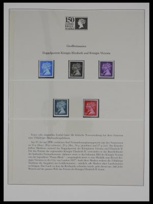 Stamp collection 27316 150 years Postage stamps.