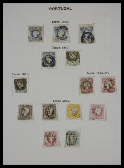 Stamp collection 27329 Portugal 1853-1940.