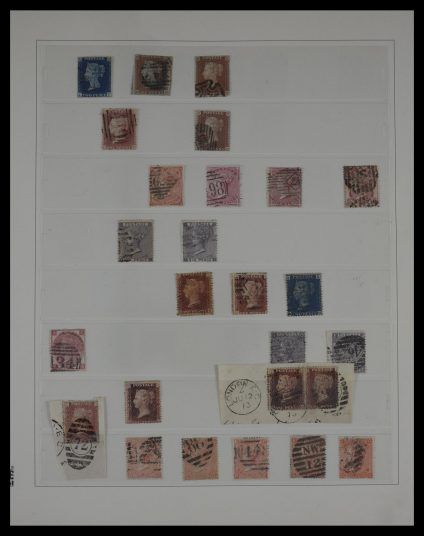 Stamp collection 27351 Great Britain 1840-1996.