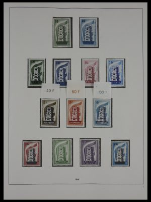 Stamp collection 27355 Europa CEPT 1956-2001.