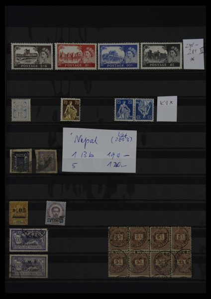 Stamp collection 27366 Europe.