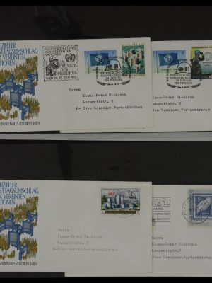 Stamp collection 27382 United Nations 1957-2003 FDC's.
