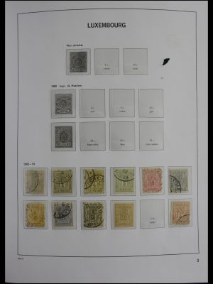 Stamp collection 27418 Luxembourg 1882-2012.