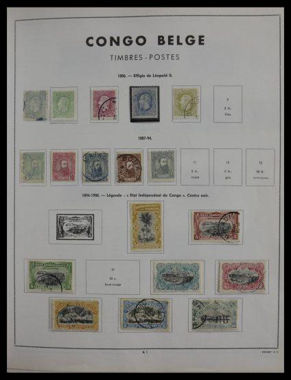 Stamp collection 27434 Belgian territories 1886-1975.