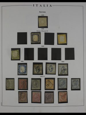 Stamp collection 27445 Italy 1862-1979.