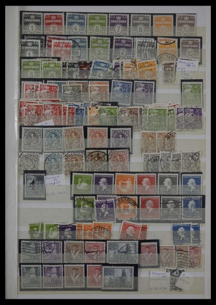 Stamp collection 27458 Denmark and Norway 1856-1988.