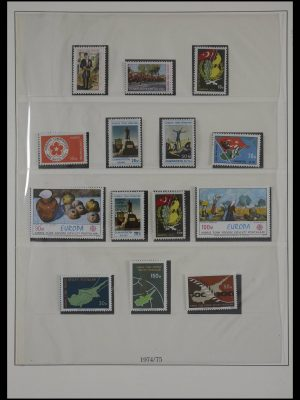 Stamp collection 27484 Turkish Cyprus 1975-1989.