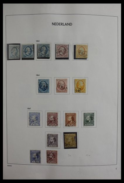 Stamp collection 27487 Netherlands 1852-1987.