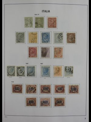 Stamp collection 27493 Italy 1862-1989.