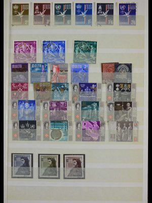 Stamp collection 27513 British territories in Europe.