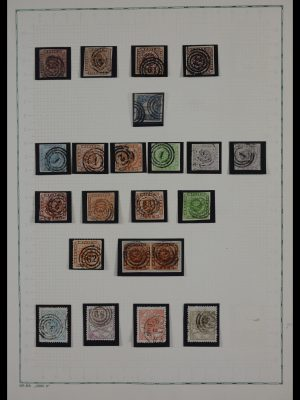Stamp collection 27518 Denmark 1851-1963.