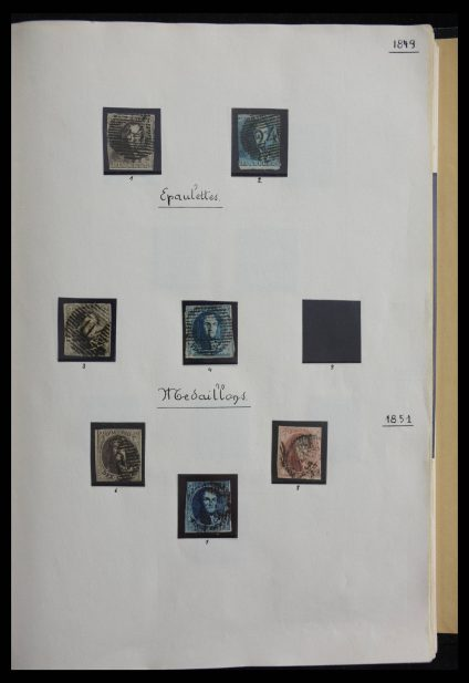 Stamp collection 27525 Belgium 1849-2001.