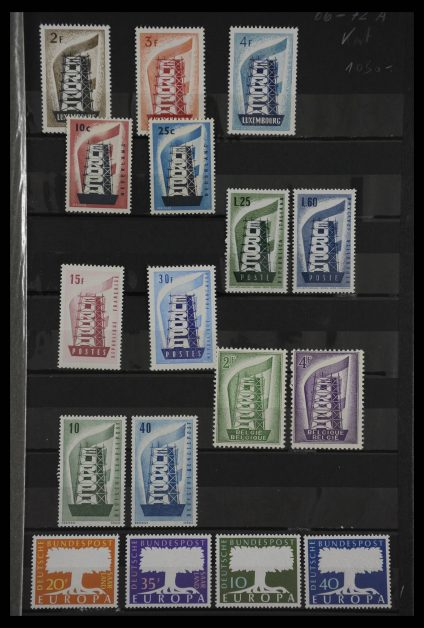 Stamp collection 27533 Europe CEPT 1956-1971.
