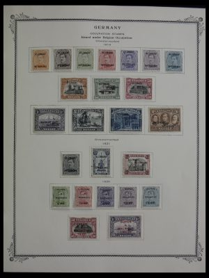 Stamp collection 27555 Berlin and German occupations 1919-1990.