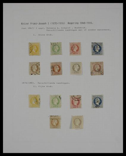 Stamp collection 27561 Levant.