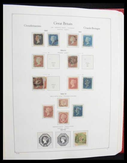 Stamp collection 27569 Great Britain 1840-2009.