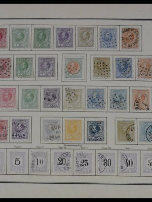 Stamp collection 27604 Surinam 1873-1911.