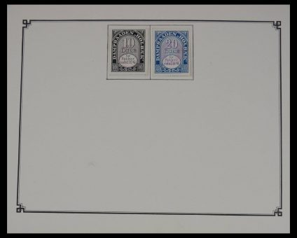 Stamp collection 27607 Local post Denmark.
