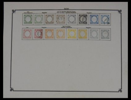 Stamp collection 27609 Italy 1867-1907.