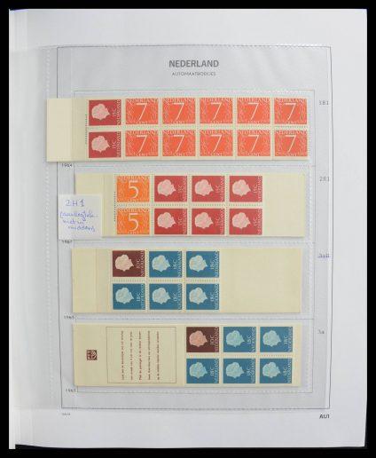 Stamp collection 27641 Netherlands stampbooklets 1964-1994.