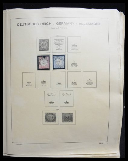 Stamp collection 27671 Germany 1875-1972.