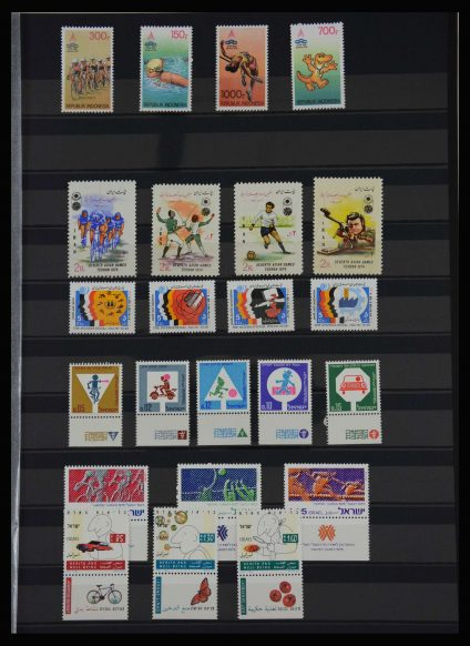 Stamp collection 27706 Thematics Sports.