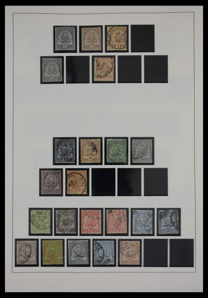 Stamp collection 27752 Tunisia 1888-1977.