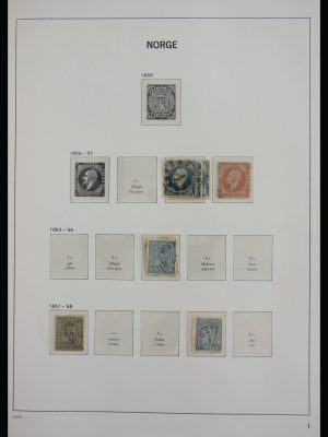 Stamp collection 27792 Norway 1856-1997.