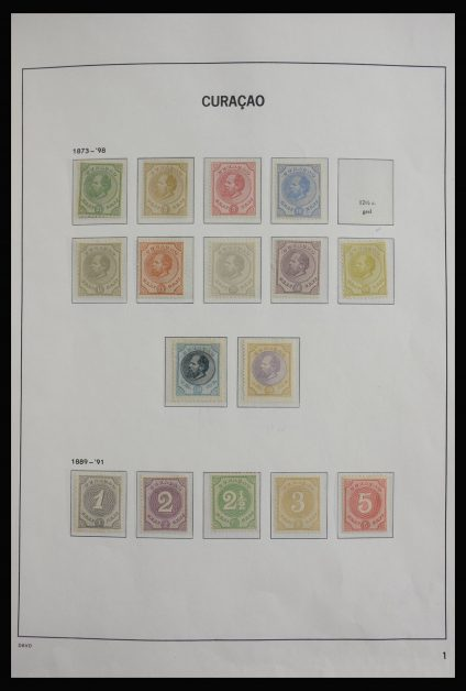 Stamp collection 27809 Curaçao 1873-2009.