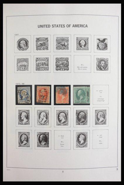 Stamp collection 27812 USA 1870-2000.