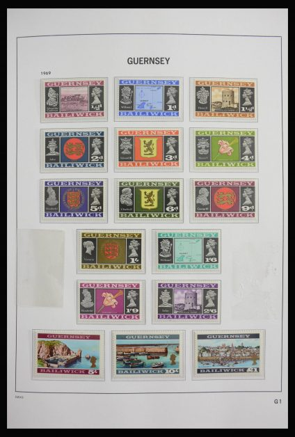 Stamp collection 27833 Guernsey 1969-2015!
