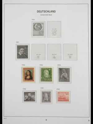 Stamp collection 27837 Germany 1953-2009.