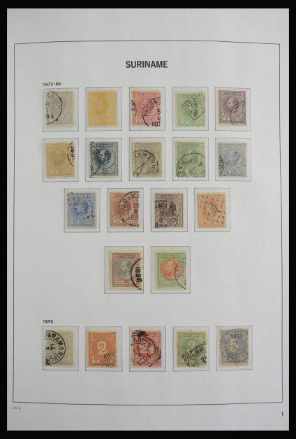 Stamp collection 27846 Surinam 1873-1975.