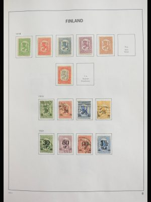 Stamp collection 27883 Finland 1875-2012.