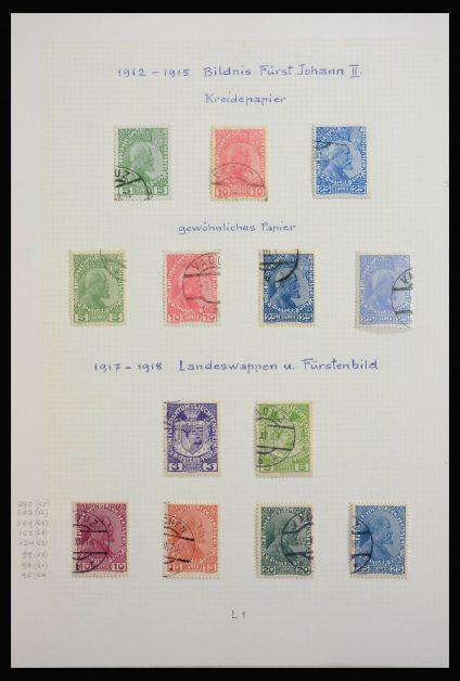 Stamp collection 27892 Liechtenstein 1912-1966.
