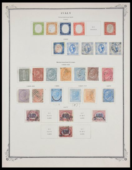 Stamp collection 27898 Italy