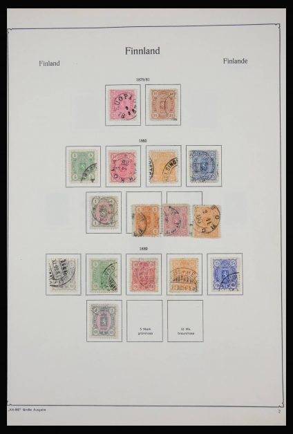 Stamp collection 27927 Finland 1860-2013.