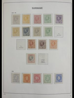 Stamp collection 27952 Surinam 1873-1980.