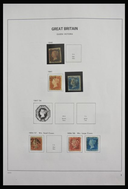 Stamp collection 28007 Great Britain 1840-2007.