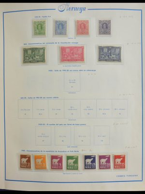 Stamp collection 28053 Norway 1911-1993.