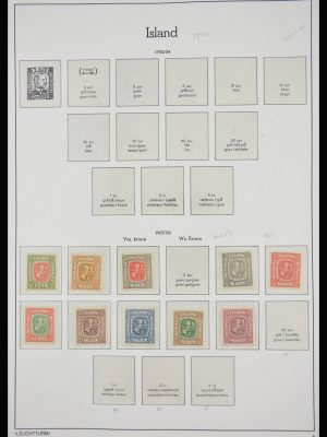 Stamp collection 28054 Iceland 1907-1993.