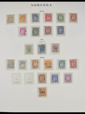 Stamp collection 28066 Norway 1856-2000.