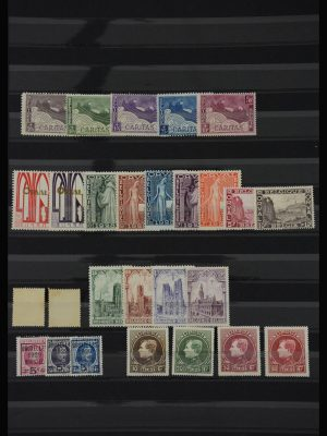 Stamp collection 28071 Belgium 1927-1929.